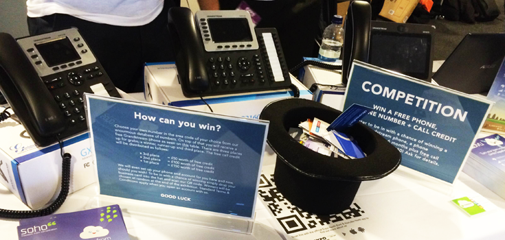 Business card anyone? There's a free phone in it...