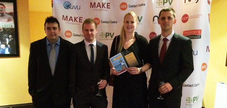 Some of the Quvu team representing our brand