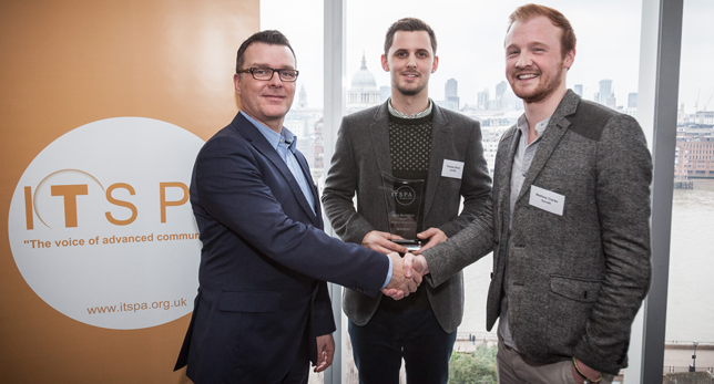 The most recent award win: 2015 ITSPAs