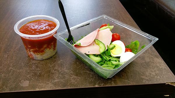 Salad and Pasta pot